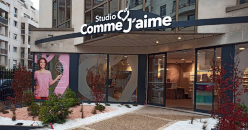 Studio Comme J'aime second centre pilote à Levallois-Perret