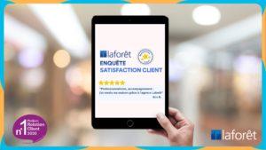 La franchise Laforêt classée N°1 du Podium de la Relation Client !