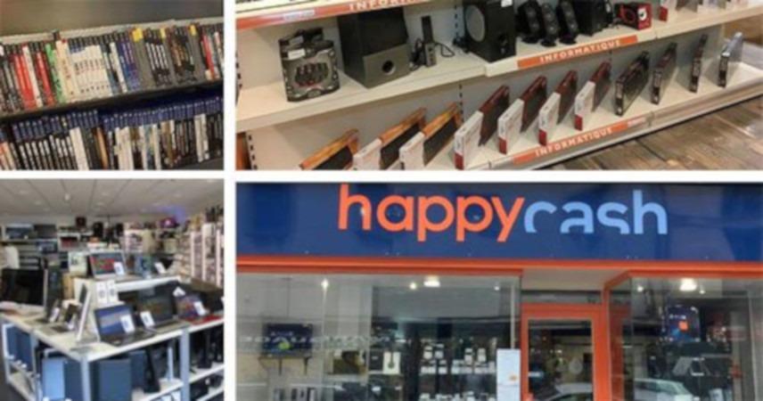 Le réseau Happy Cash ambitionne d'ouvrir 40 magasins Happy Troc