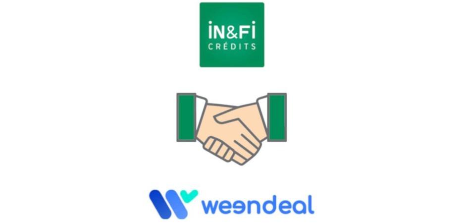 La franchise In&Fi Crédits met en place un partenariat avec Weendeal