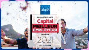 La franchise Laforêt élue Meilleur Employeur 2021