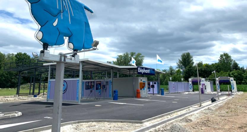 Comment ouvrir une station de lavage Éléphant Bleu ?