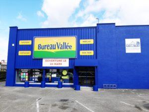 Bureau Vallée nouveau magasin à Ambérieu-en-Bugey