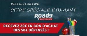 Roady lance une offre exceptionnelle pour les étudiants