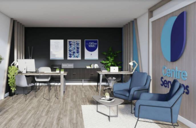 L'enseigne Centre Services s'offre un nouvel intérieur