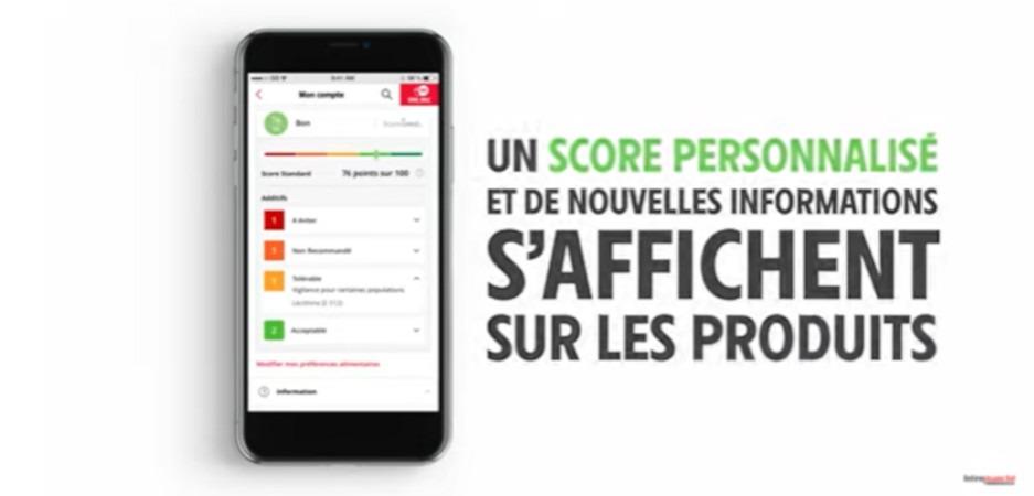 Intermarché valorise sa nouvelle application baptisée Consomieux