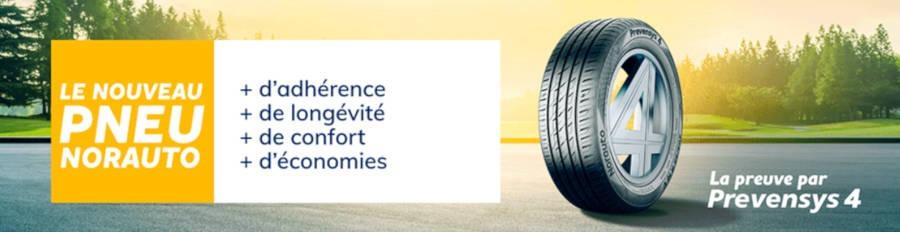 Le réseau Norauto lance son nouveau pneu Prevensys 4