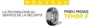 Le réseau Midas lance une nouvelle génération de pneu
