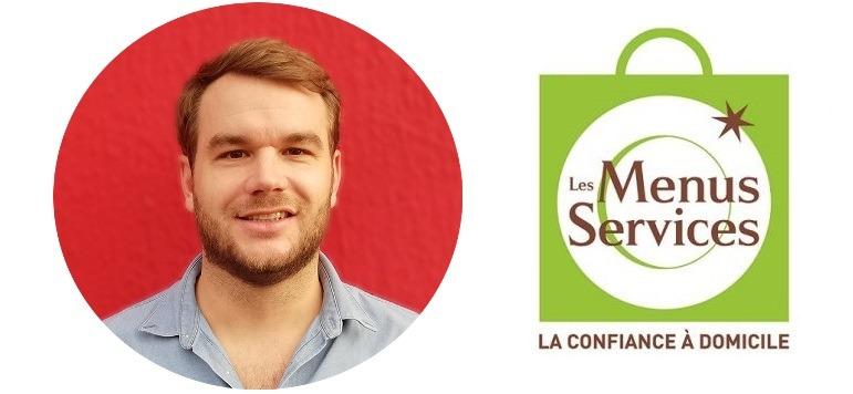 Thibault Percepied franchise Les Menus Services à Cœur-de-Seine