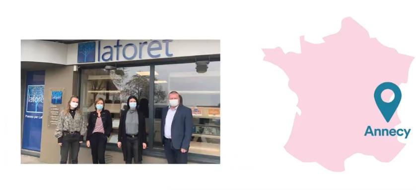 Une nouvelle franchisée Laforêt s'installe à Annecy