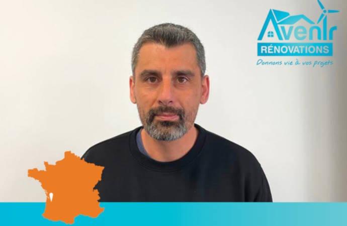 Stéphane Ribério, nouveau licencié Avenir Rénovations Bordeaux