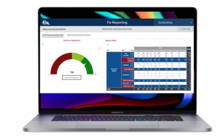 Le réseau Fix Auto dévoile son nouvel outil Fix Reporting