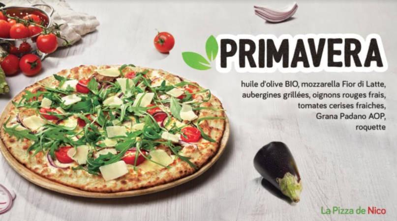 La Pizza de Nico lance sa nouvelle carte Printemps-Eté 2021