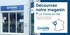 Le réseau Coriolis Télécom débarque à La Flotte En Ré