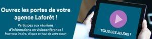 Participez aux prochains webinaires de la franchise Laforêt