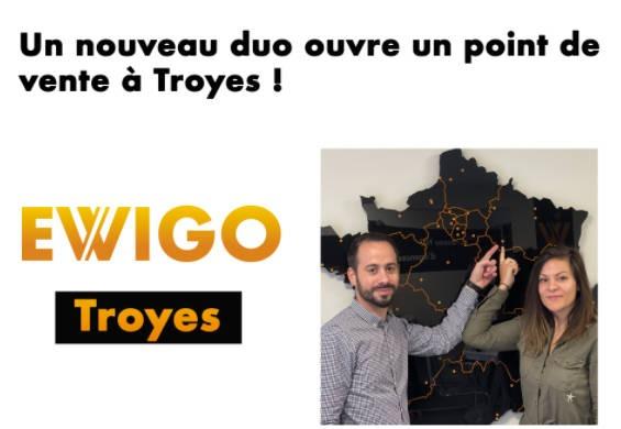 Un binôme de franchisés Ewigo débarque à Troyes