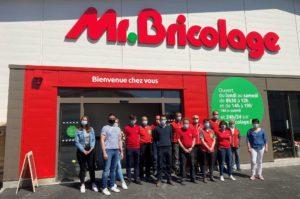 Le magasin  Mr. Bricolage de Morteau passe au nouveau concept