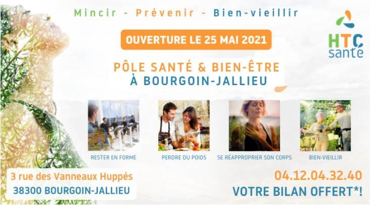 L'enseigne HTC Santé débarque à Bourgoin Jallieu