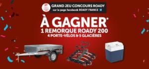 Roady lance un grand jeu concours sur Facebook