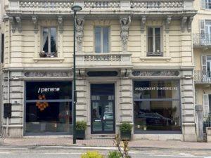 Après des années chez le Groupe Fournier, elle ouvre sa boutique Perene