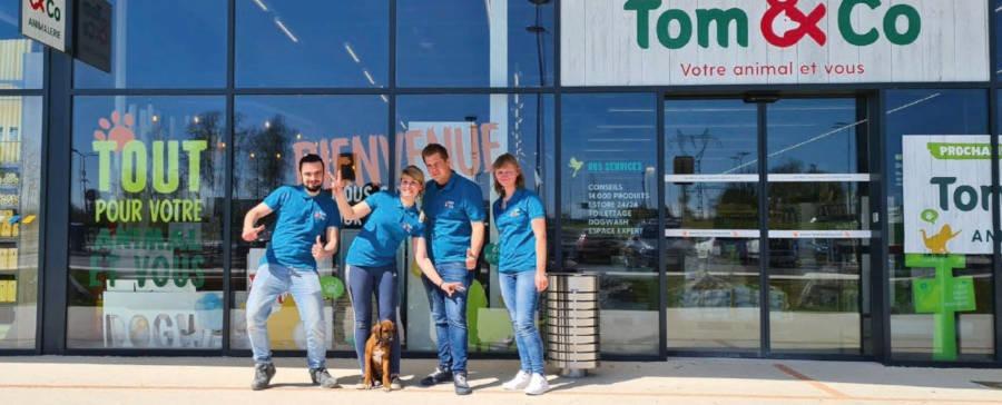 L'enseigne Tom&Co renforce sa présence dans les Hauts-de-France