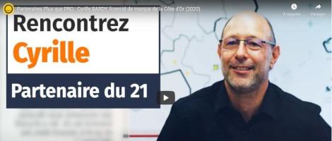 Témoignage de Cyrille Bardy, partenaire Plus que PRO de la Côte d'Or