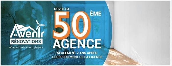 Le réseau Avenir Rénovations ouvre sa 50ème agence
