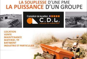 Comptoir de Location Bourg en Bresse participe au Salon Espace BTP