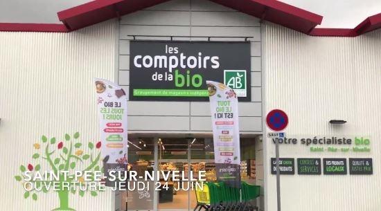 Le réseau Les Comptoirs de la Bio ouvre à Saint-Pée-sur-Nivelle