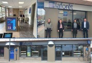 La franchise Laforêt poursuit l'inauguration de nouvelles agences