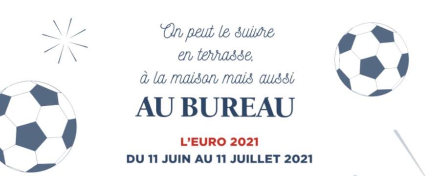 Les matchs de l'Euro 2021 diffusés au sein des pubs du réseau Au Bureau