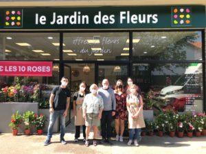Un multi-franchisé Le Jardin des Fleurs ouvre son 4ème magasin