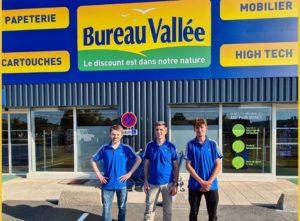 Une nouvelle franchise Bureau Vallée ouvre à Ancenis