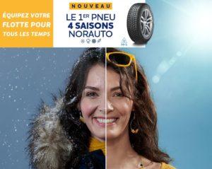 Le réseau Norauto lance son nouveau pneu 4 Saisons
