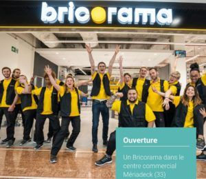 Le réseau Bricorama s'installe dans un centre commercial de Bordeaux