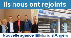 Ils ont rejoint le réseau de franchise immobilière Laforêt