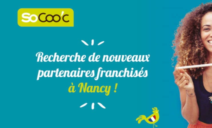 SoCoo'c en quête de nouveaux franchisés à Chartres et Nancy