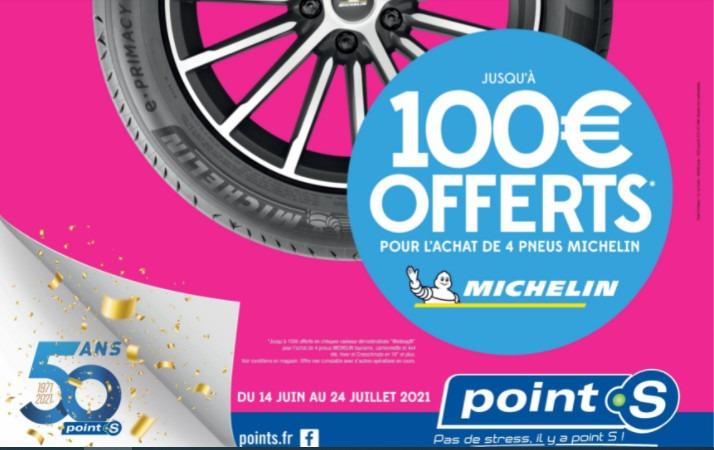 Point S lance une nouvelle campagne promotionnelle avec Michelin