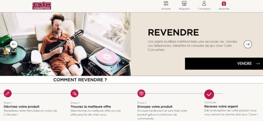 Cash Converters dévoile sa nouvelle plateforme de rachat en ligne
