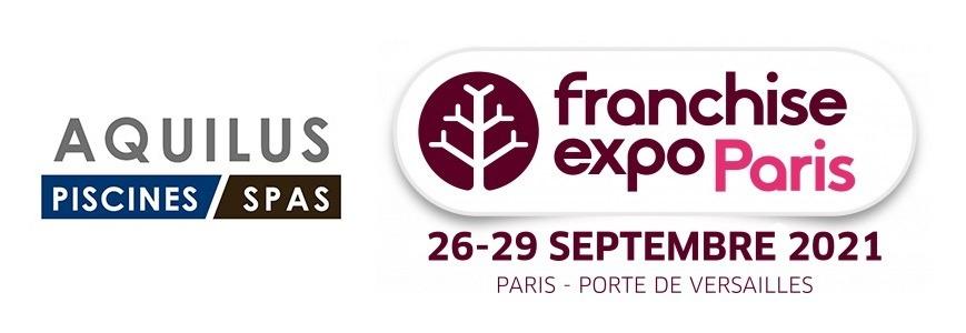 Aquilus Piscines et Spas vous attend au salon Franchise Expo Paris