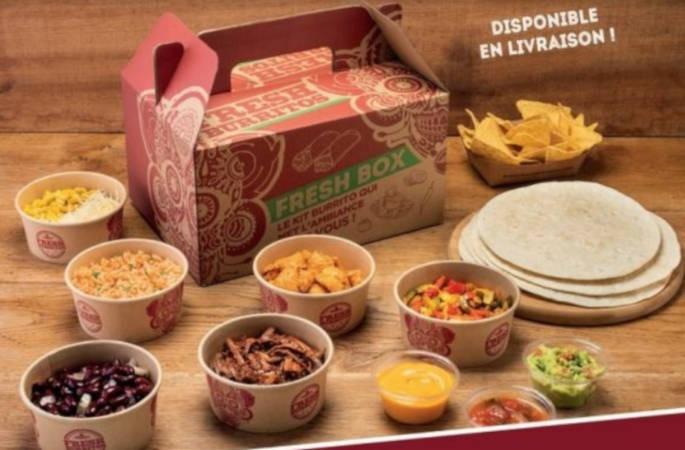 La franchise de restauration Fresh Burrito lance sa Fresh Box