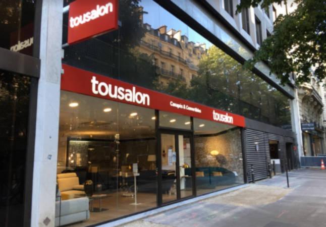Tousalon ouvre les portes de son 1er magasin dans le centre Parisien