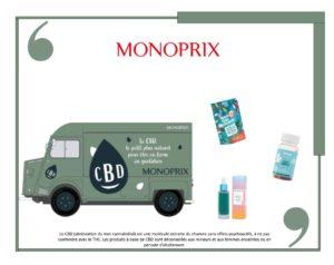 Le réseau Monoprix lance une gamme de produits à base de CBD