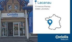 Coriolis Télécom implante un nouveau magasin à Lacanau