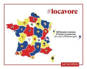 Le réseau Monoprix participe au soutien du tissu économique local